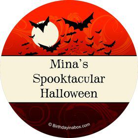 Frightful Personalized Stickers (Sheet of 12)