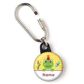 "Frog Pond Fun Personalized 1"" Carabiner (Each)"