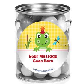 Frog Pond Fun Personalized Mini Paint Cans (12 Count)