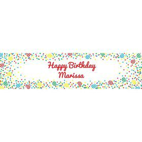 Frosted Cake Personalized Banner (Each)