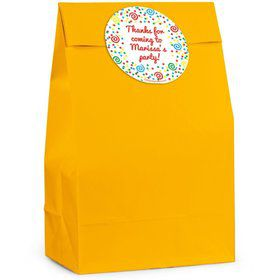 Frosted Cake Personalized Favor Bag (Set Of 12)