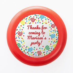 Frosted Cake Personalized Mini Discs (Set Of 12)