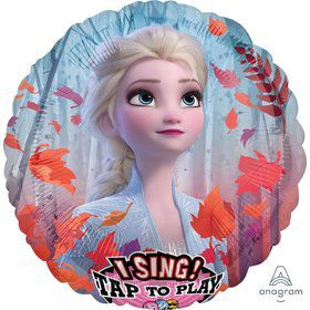 "Frozen 2 28"" Jumbo Singing Foil Balloon"