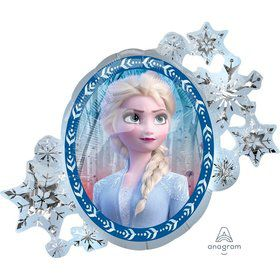 "Frozen 2 30"" Jumbo Shaped Balloon"