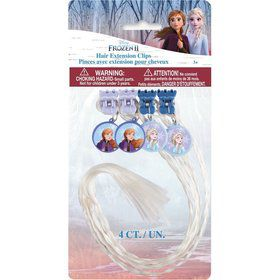 Frozen 2 Hair Extensions (4ct)