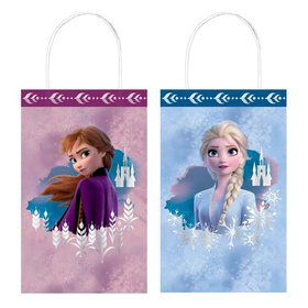Frozen 2 Hot Stamped Kraft Favor Bag (8ct)