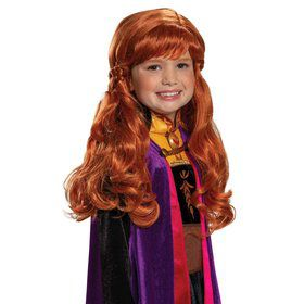 Frozen 2 Anna Wig for Kids