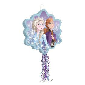 Frozen 2 Shaped Drum Pull Pinata