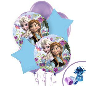 Frozen Balloon Bouquet - Anna & Elsa