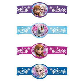 Frozen Rubber Bracelet Favors (4 Pack)