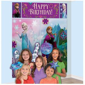 Frozen Scene Setter with Photo Booth Props