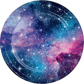 "Galaxy Party 9"" Dinner Plate (8)"