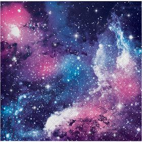 Galaxy Party Beverage Napkin (16)