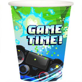 Game Time 9oz. Cups (8)