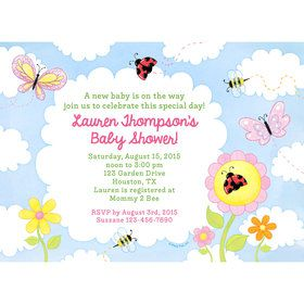 Garden Personalized Invitation (Each)