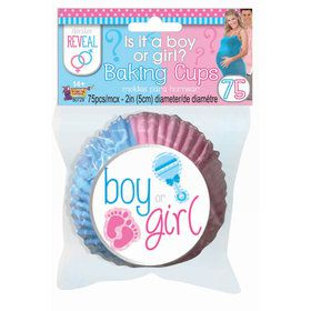 Gender Reveal Baking Cups (75)