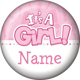 Gender Reveal: It's a Girl Personalized Mini Magnet (Each)