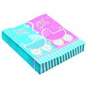 Gender Reveal Lunch Napkins (16)