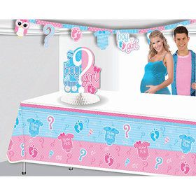Gender Reveal Table Cover (1)