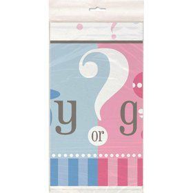 Gender Reveal Table Cover (Each)