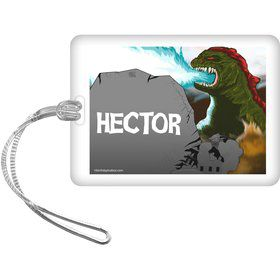 Giant Monster Personalized Bag Tag (Each)