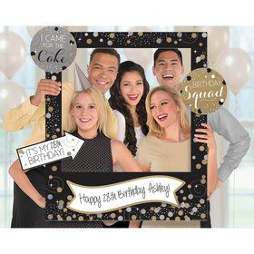 Giant Sparkling Celebration Birthday Photo Frame Kit (15)