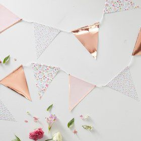 Ginger Ray Ditsy Floral 11' Bunting