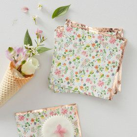 Ginger Ray Ditsy Floral Napkins (16)