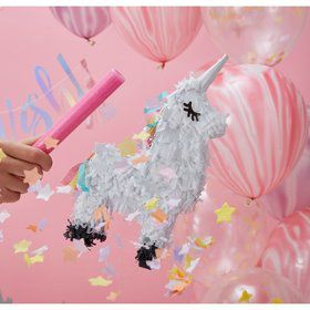 Ginger Ray Make a Wish Mini Unicorn Pinata Decoration