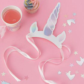 Ginger Ray Make a Wish Unicorn Horn Party Hats (8)