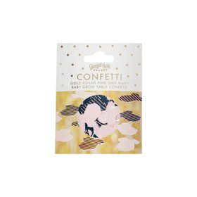 Ginger Ray Pink & Navy Gold Foiled Table Confetti