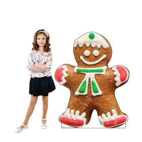 Gingerbread Man Cookie Standup
