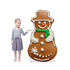 Gingerbread Snowman Cookie Standup