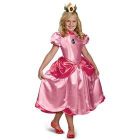Girls Deluxe Super Mario Princess Peach