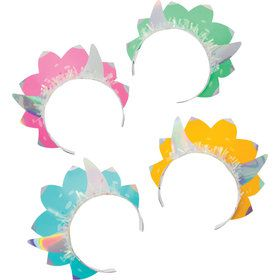 Girls Dino-Roar Iridescent Headbands