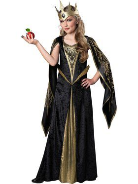 Girls Evil Queen Costume