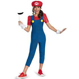 Girls Mario Tween Costume