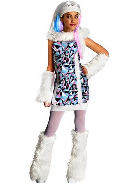 Girls Monster High Abbey Bominable Cost