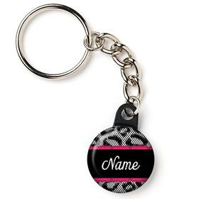 "Girl's Night Out Personalized 1"" Mini Key Chain (Each)"