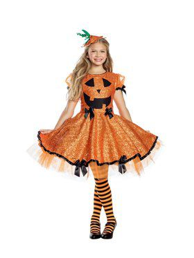 Girls Pumpkin Cutie Costume