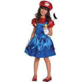 Girls Super Mario Brothers Mario Skirt C
