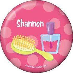 Glamorous Party Personalized Button (each)