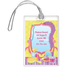 Glamorous Party Personalized Luggage Tag (each)