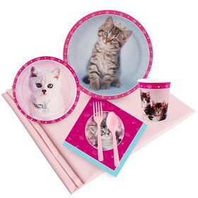Glamour Cats 24 Guest Party Pack by Rachael Hale
