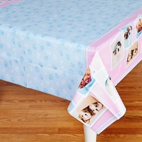 Glamour Dogs Plastic Tablecover by Rachael Hale