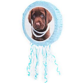 Glamour Dogs Pull-String Shaped Pinata by Rachael Hale