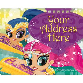 Glisten and Sparkle Personalized Address Labels (Sheet of 15)