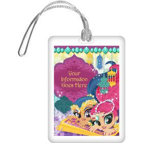 Glisten and Sparkle Personalized Bag Tag (Each)