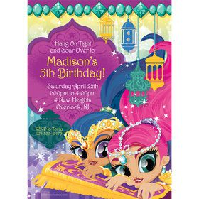 Glisten and Sparkle Personalized Invitation (Each)