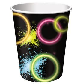 Glow Party 9 oz Cups (8 Count)